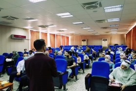 A Workshop titled The Road to the Labor Market
